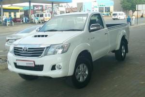 TWK TOYOTA Piet Retief - 2011 TOYOTA HILUX 3.0 D4D S-CAB