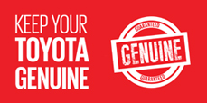 Keep your Toyota Genuine